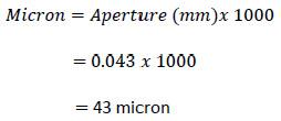 micron conversion