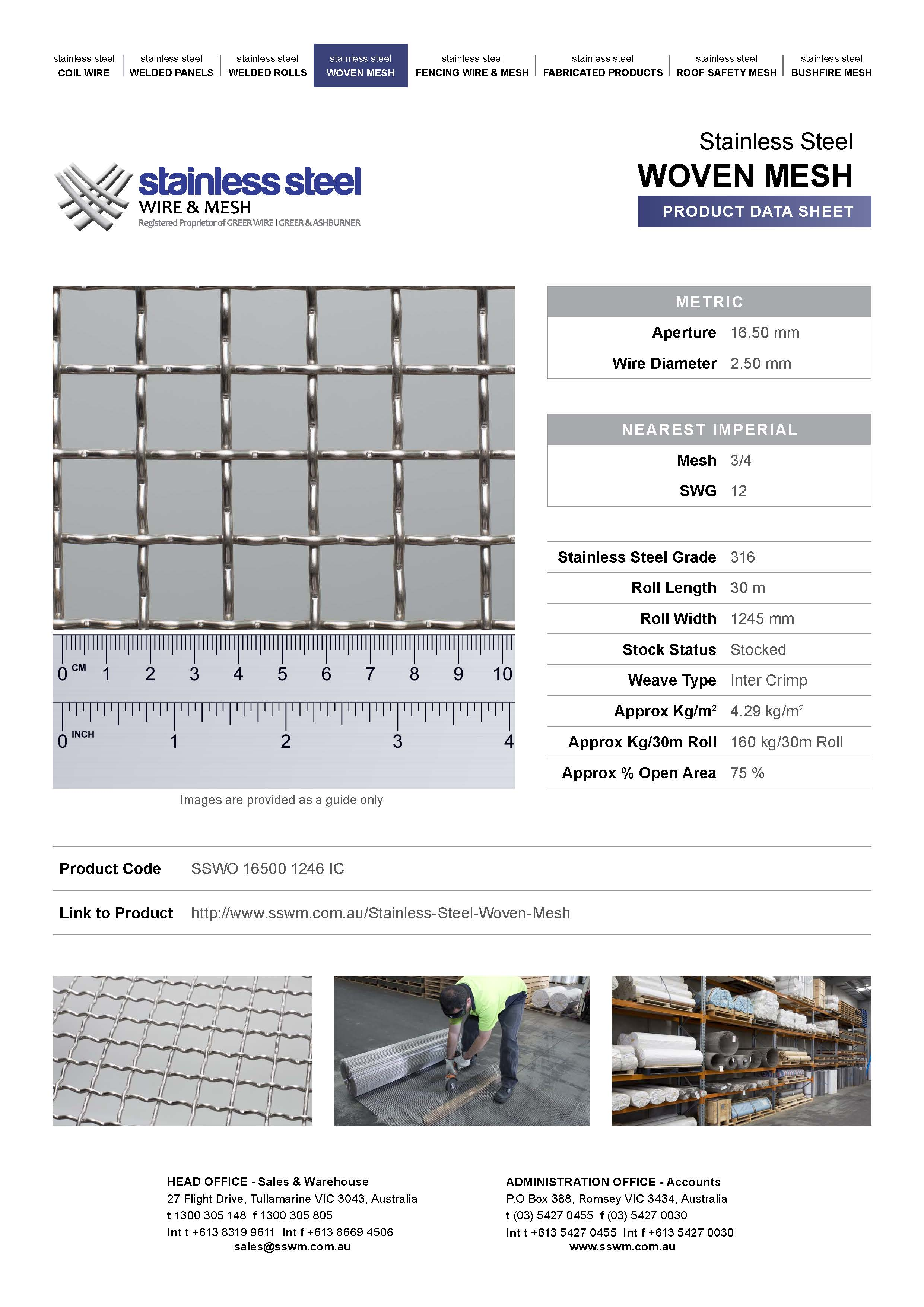Product data sheets are live on our website! | Stainless Steel Wire ...