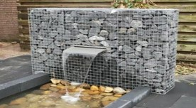 Gabions- a great use of stainless steel welded mesh