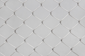 Stainless steel 2.5mm wire chain link fencing